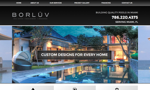 Miami Pool Contractor Located in Doral - Borluv Pools