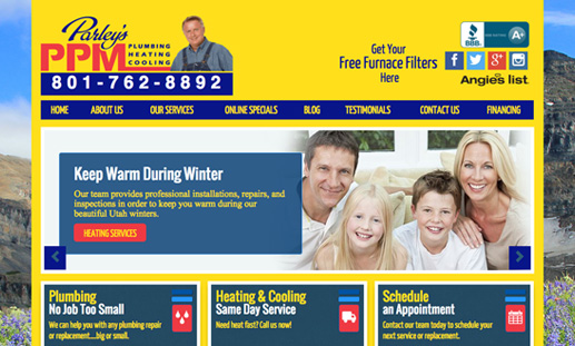 Utah County Plumber Located in Orem - Parley's PPM Plumbing