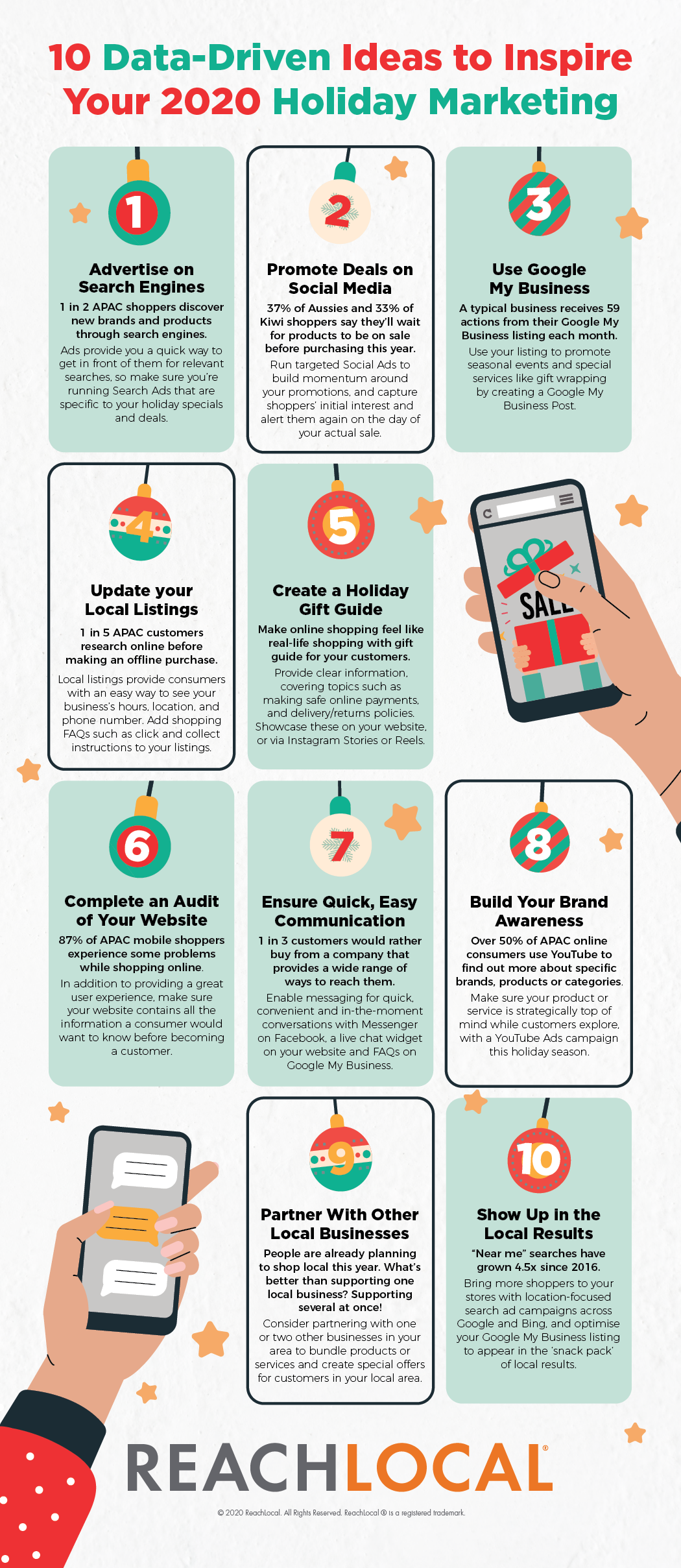 Inspire your holiday marketing with these ideas from ReachLocal