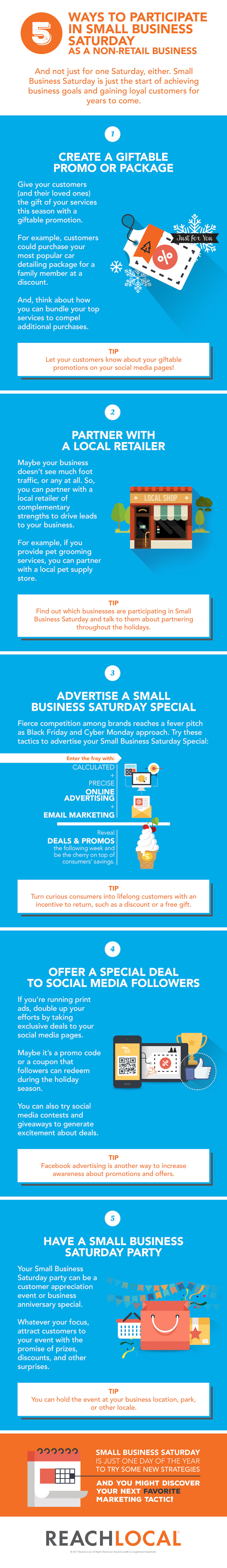 5 Ways for Non-Retailers to Get Involved in Small Business Saturday