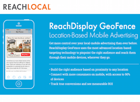 ReachDisplay GeoFence