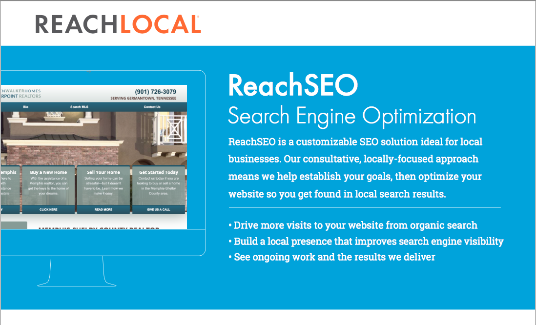 ReachSEO search engine optimization from ReachLocal