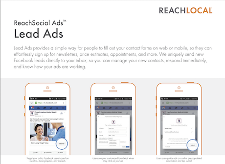 ReachSocial Ads - Lead Ads | ReachLocal